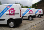 fleet graphics and van stickers in kent