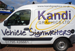 kent van sign company - Kandi Graphics